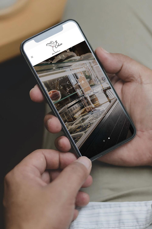 web design il calice ristorante